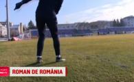 VIDEO Jucatorul din Liga I care imita executiile lui Di Maria! 3 din 3 din spatele portii, din RABONA, apoi bucurie ca a lui Ronaldo :)