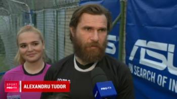 """""""Mai bine sa arbitrezi cu femei decat sa arbitrezi femei! E bine sa le ai aliate"""" Alexandru Tudor a revenit pe teren de 8 martie: VIDEO"""