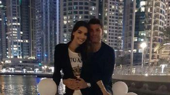 """Unde si-a dus Mutu sotia de 8 martie! """"Briliantul"""" si frumoasa Sandra se bucura de viata la Dubai: VIDEO"""