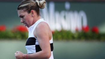 """Momentul care a ridicat toti spectatorii in picioare: """"Public de la Indian Wells salutati regina de la Roland-Garros!"""" Reactia Simonei Halep"""