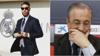 """""""Plateste-ma si plec!"""" In conflict cu Perez, Sergio Ramos nu-si face griji ca va ramane pe drumuri! Fundasul este un afacerist de succes si are o avere uriasa"""
