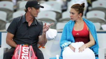 Se intoarce Darren? Surpriza: australianul Cahill, alaturi de Simona Halep la Indian Wells! A fost in tribune la meciul cu Strycova