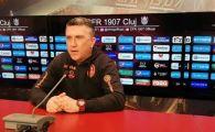 Situatie incredibila la CFR! Clujenii i-au prelungit contractul lui Minteuan pentru doar 3 zile in asteptarea lui Petrescu: ce s-a intamplat