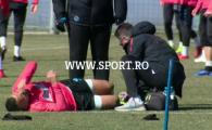 ULTIMA ORA | Lovitura pentru FCSB inaintea meciului cu Viitorul: inca un titular s-a accidentat la antrenament FOTO