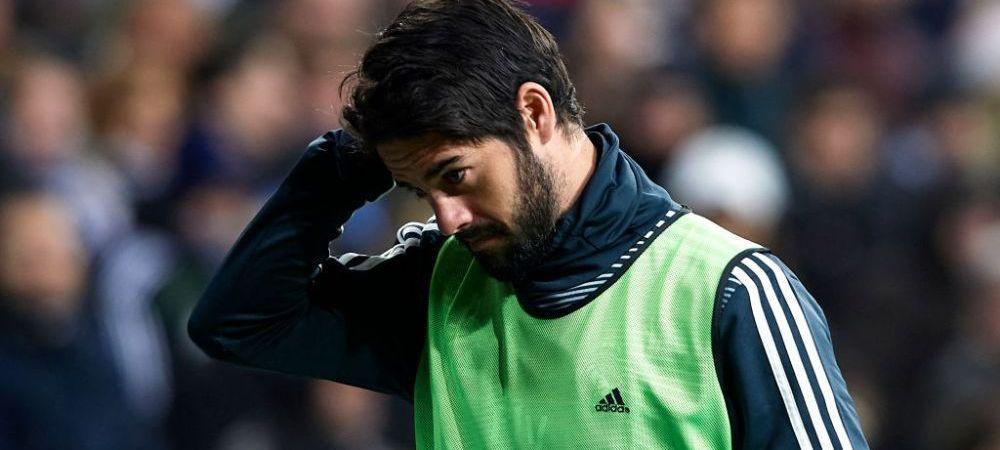 Tensiunile continua pe Santiago Bernabeu! Isco, amendat de Real Madrid la cererea lui Solari! Care este motivul