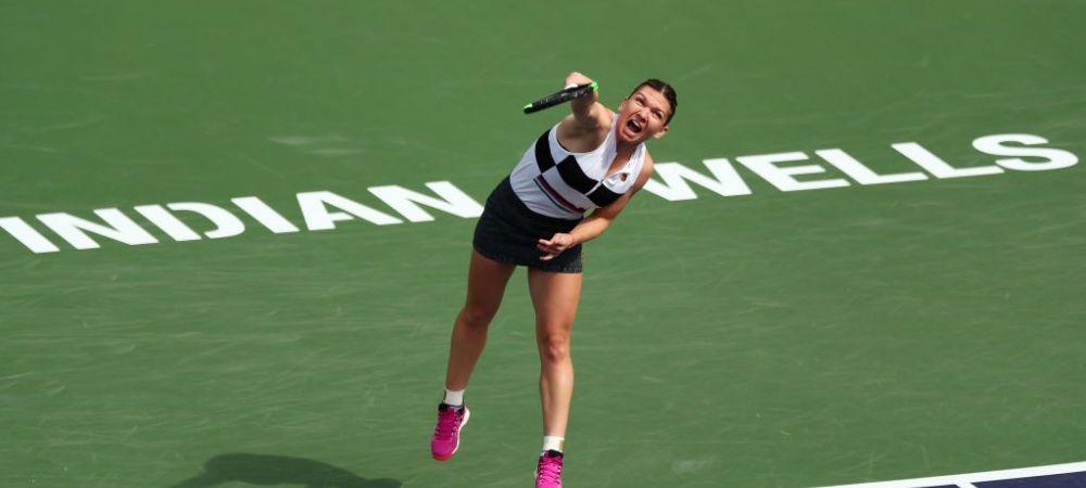 """""""Datorita voua am reusit sa lupt azi!"""" Prima reactie a Simonei Halep dupa partida INFERNALA de la Indian Wells: """"Sunt mandra ca am castigat in doua seturi!"""""""