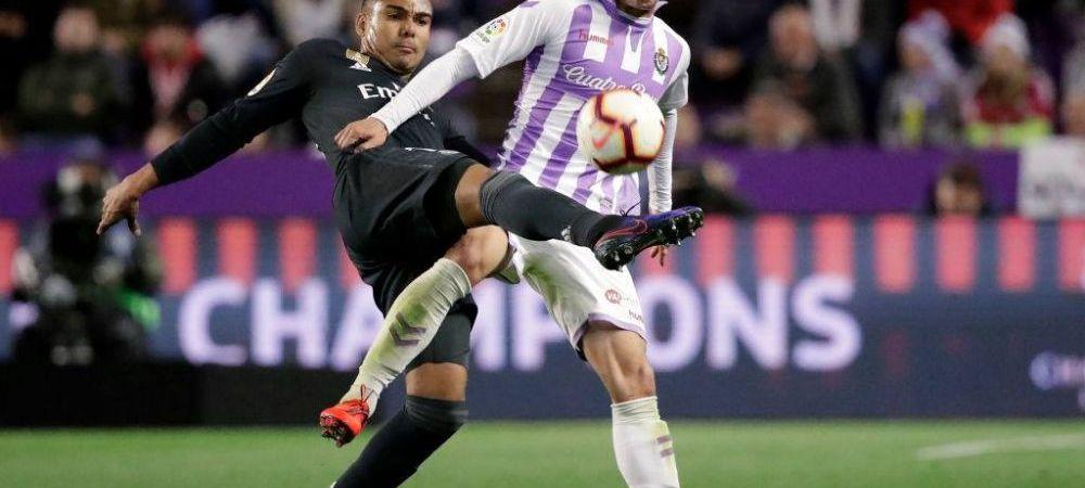 GENIAL | IMAGINILE SERII IN EUROPA: motivul pentru care a fost validat, apoi anulat primul gol al lui Valladolid in meciul cu Real! Nu era NIMENI in camera VAR