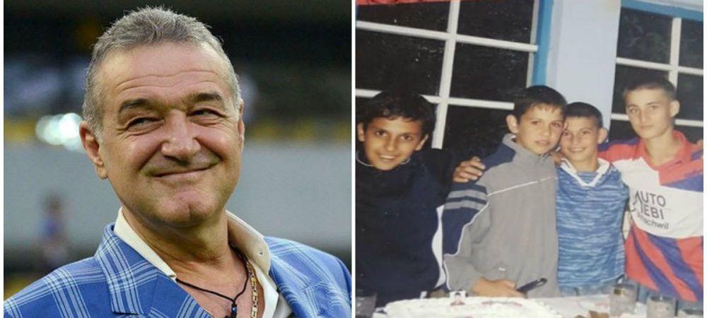 Gigi Becali, cucerit total de noul transfer! Iulian Cristea, dovada clara de devotament! Fotografie senzationala din copilarie