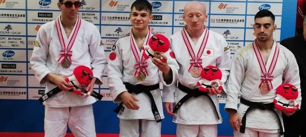 Stralucitor in intuneric! Judoka nevazator Alex Bologa, aur in Japonia