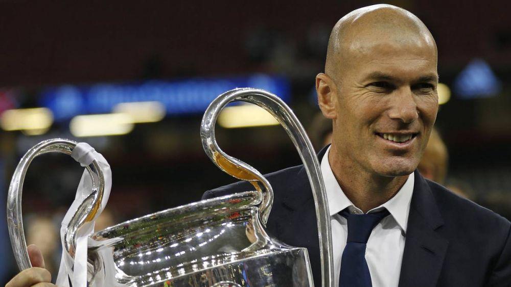 Surpriza uriasa: ce a ales Zidane intre Real Madrid si Juventus:
