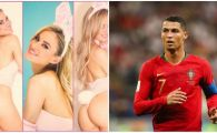 BOMBA SEXY care il va incuraja pe Cristiano Ronaldo in preliminariile EURO 2020! Imagini incendiare pentru nationala Portugaliei! GALERIE FOTO