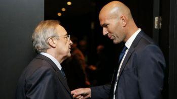 S-A FACUT! Zidane semneaza cu Real Madrid pana in 2022 si are obiectiv reconstructia lotului