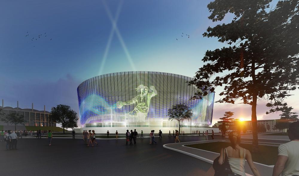 PRIMELE FOTOGRAFII cu Polivalenta de 138 de milioane euro care va fi construita langa National Arena! Proiect a fost aprobat astazi