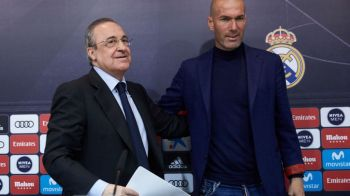 ZIDANE LA REAL MADRID   VIDEO: Conferinta de prezentare a lui Zizou pe Bernabeu! Ce contract a semnat si cum l-a convins Perez