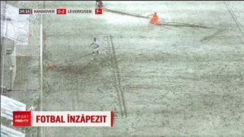 FAZA IREALA in Germania! Zapada i-a aparat sutul: moment incredibil petrecut la meciul lui Leverkusen | VIDEO