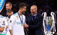 Motivul pentru care Cristiano Ronaldo NU le-a spus celor de la Juventus sa-l aduca pe Zidane! Dezvaluirea facuta de italieni