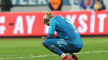 """Dezastru TOTAL pentru Karius! A primit un nou gol caraghios, proprii fani l-au luat la injuraturi si a cerut sa fie SCOS de pe teren: """"Ceva e in neregula cu el!"""""""