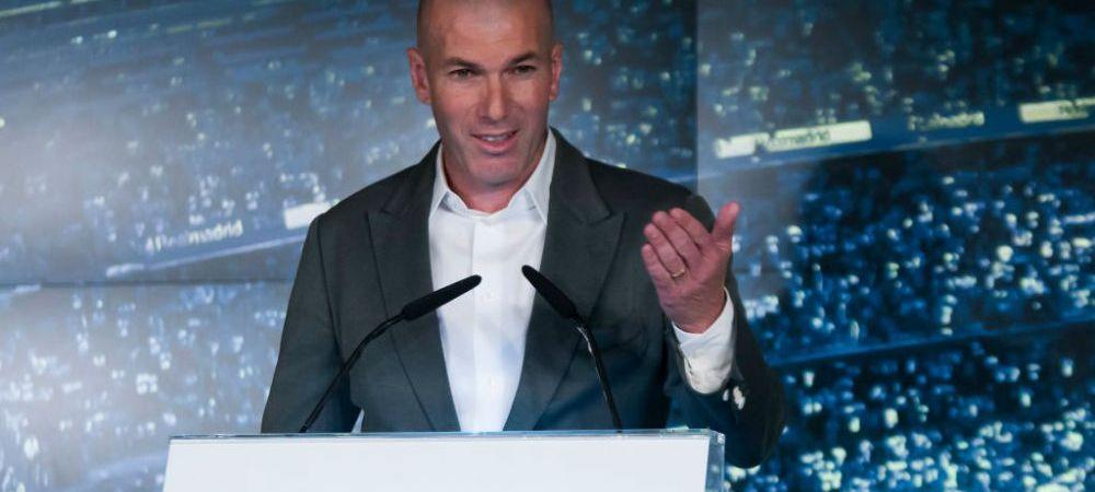 Efect imediat! Ce s-a intamplat in prima zi dupa revenirea lui Zinedine Zidane la Real Madrid! Surpriza uriasa la club