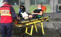 Cel mai ghinionist arbitru din Romania a luat bataie a doua oara in doi ani! In 2017 a fost spitalizat dupa ce un jucator a tabarat pe el, acum un patron l-a lovit