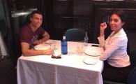 Imaginile care arata ca Ronaldo e zeu la Torino! Cristiano a scos-o pe Georgina la restaurant dupa 3-0 cu Atletico, dar s-a simtit ca in peluza: VIDEO