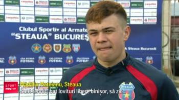 """Steaua l-a transferat pe """"noul Alibec"""". Pustiul a debutat cu o dubla si isi face autocaracterizarea: """"Sunt tehnic, bat lovituri libere binisor! Joc rummy pentru ca e un joc de inteligenta"""""""