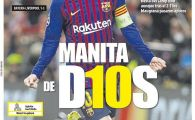 """Manuta lui Dumnezeu!"" Messi, raspuns MONDIAL pentru Ronaldo! Ce scriu catalanii dupa 5-1 cu Lyon"