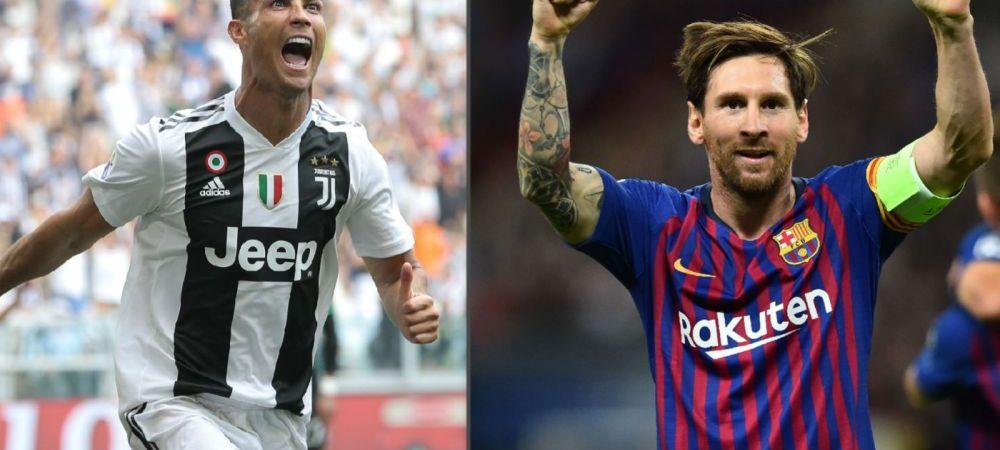 Messi se TEME de Juventus in Champions League! Declaratie UNICA despre Cristiano Ronaldo! Ce a spus despre portughez