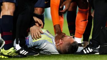 """Dezvaluiri socante dupa noaptea NEAGRA de la Barcelona! A iesit in lacrimi de pe teren: """"Nu mai tine minte nimic! A vomitat in vestiar, si-a pierdut cunostinta!"""""""
