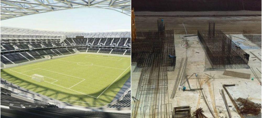 """""""Stadionul Steaua prinde contur!"""" Noi imagini cu arena din Ghencea. Lacatus, vizita pe santier. FOTO"""