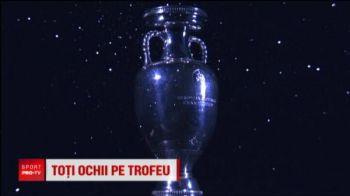 Trofeul UEFA ajunge la Bucuresti! Vineri, de la ora 13:00, romanii pot admira trofeul pe Arena Nationala