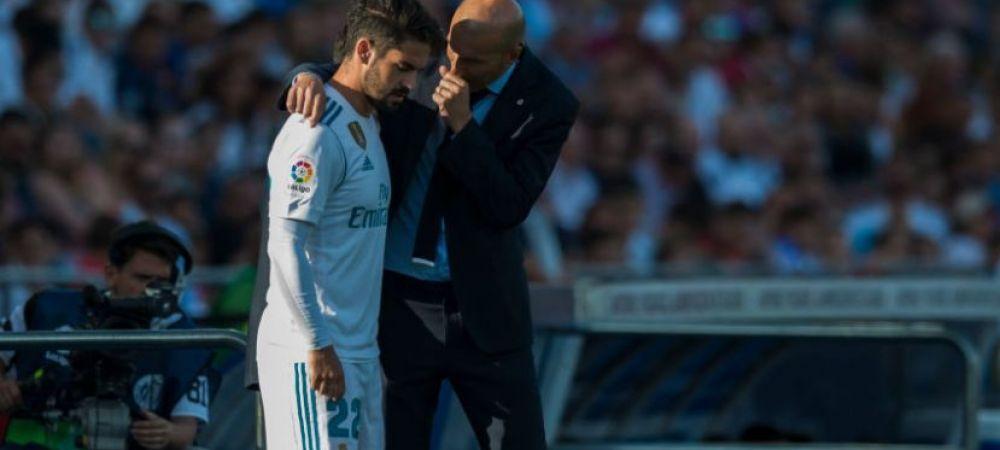 """Isco, in al 9-lea cer! """"Stim cat de mult iubeste Real Madrid"""" Ce a spus de revenirea lui Zidane"""