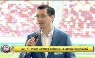 """""""Stim si ne-am obisnuit ca nu toate proiectele de infrastructura vor fi gata!"""" Razvan Burleanu, la prezentarea trofeului EURO la Bucuresti"""