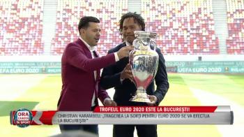Contra, cu tupeu! Selectionerul a trecut peste regulile UEFA si a pus mana pe trofeul Euro! VIDEO