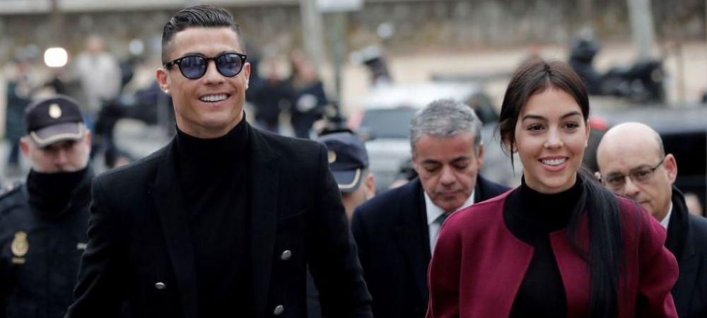 """Cristiano Ronaldo, imagini superbe pe Instagram! Familia Champions League! """"A devenit jucaria preferata"""" Clipul publicat de Georgina"""