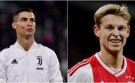 Reactia de milioane a pustiului cumparat cu 75.000.000 euro cand a aflat ca va da piept cu Ronaldo in sferturile UCL! Ce a spus Frenkie De Jong