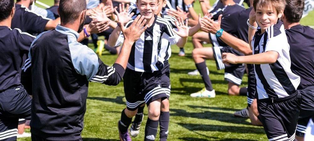 Pustii romani se pot antrena ca Ronaldo! Juventus revine in Romania! Unde vor avea loc antrenamentele