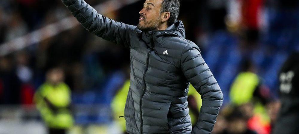 CE NEBUNIE! Echipa incredibila pe care Luis Enrique NU a convocat-o! Spania, marea favorita din grupa Romaniei