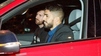 Mai intai Messi si apoi NEVASTA! Atacantii Barcei sunt nedespartiti! Ipostaza fabuloasa in care au fost surprinsi. FOTO