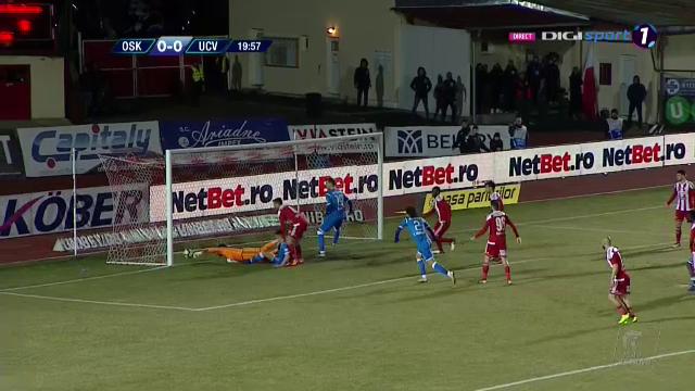 SEPSI - CRAIOVA 0-1| Mangia e la un punct sub CFR! Oltenii s-au jucat cu ocaziile la Sfantu Gheorghe