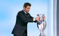 """""""Bai, cat de greu e!"""" Mutu si Belodedici au adus trofeul UEFA EURO 2020 in studio-ul Stirilor Pro TV! Ce a urmat"""