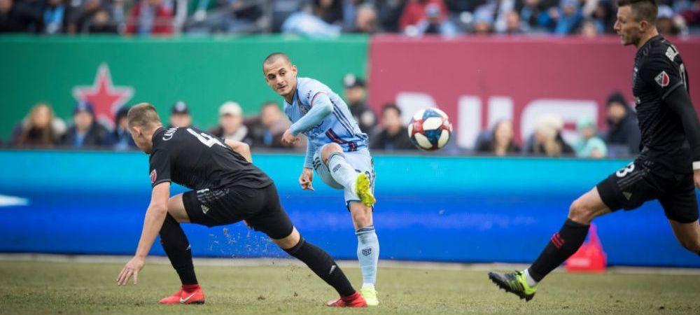 """Mitrita e pe val in MLS! Capitanul lui New York City l-a laudat pe roman: """"E uimitor ce poate face pustiul cu mingea!"""""""