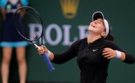 Performanta FABULOASA pentru Bianca Andreescu!!! S-a calificat in FINALA de la Indian Wells dupa un meci de senzatie cu Svitolina!