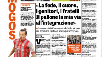 """Vasile Mogos, vedeta azi in Gazzetta dello Sport! """"Ma emotioneaza lucrurile adevarate, nu imi tin niciodata lacrimile!"""" Povestea sa e senzationala"""