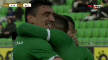 Romanii de nationala fac din nou spectacol la Ludogorets! Grigore si Keseru au inscris in victoria 6-0 a bulgarilor! VIDEO