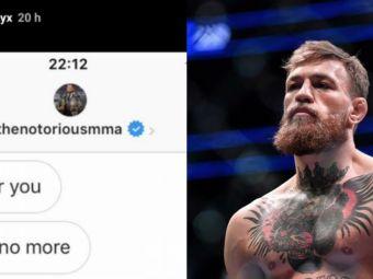 """Dialog incredibil intre McGregor si femeia care spune ca i-a facut un copil. Ce """"vrajeala"""" are Conor pe Instagram :)"""