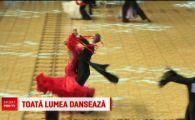 Liga campionilor la dans sportiv a ajuns in Romania! 1500 de dansatori din toata lumea au umplut Polivalenta din Bucuresti