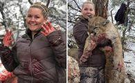 Ce s-a intamplat la cateva secunde dupa ce o femeie a postat imagini revoltatoare cu o puma abia impuscata!