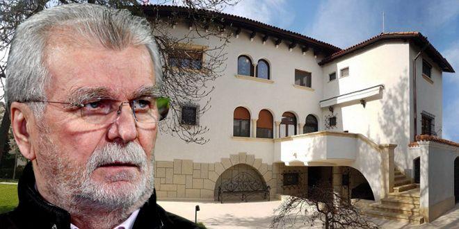 Dinu Gheorghe isi vinde vila cu 5 milioane de euro! Pivnita cu usa blindata, uluitor cate camere si locuri de parcare are! Cum arata interiorul