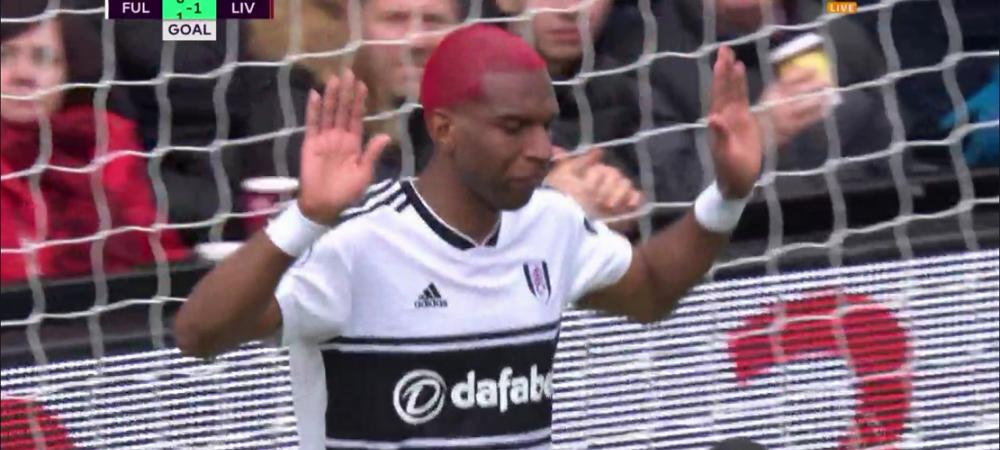 """""""Liverpool, iarta-ma!"""" Eroare incredibila in apararea lui Liverpool, Babel a marcat pentru Fulham, apoi si-a cerut scuze! VIDEO"""