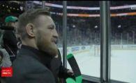 Conor McGregor s-a dus in vestiarul celor de la Boston Bruins! Ce surpriza le-a facut hocheistilor